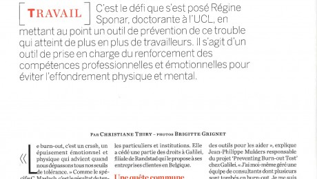 Burnout voorkomen – Psychologies Magazine