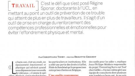 Prévenir le Burn-out – Psychologies Magazine