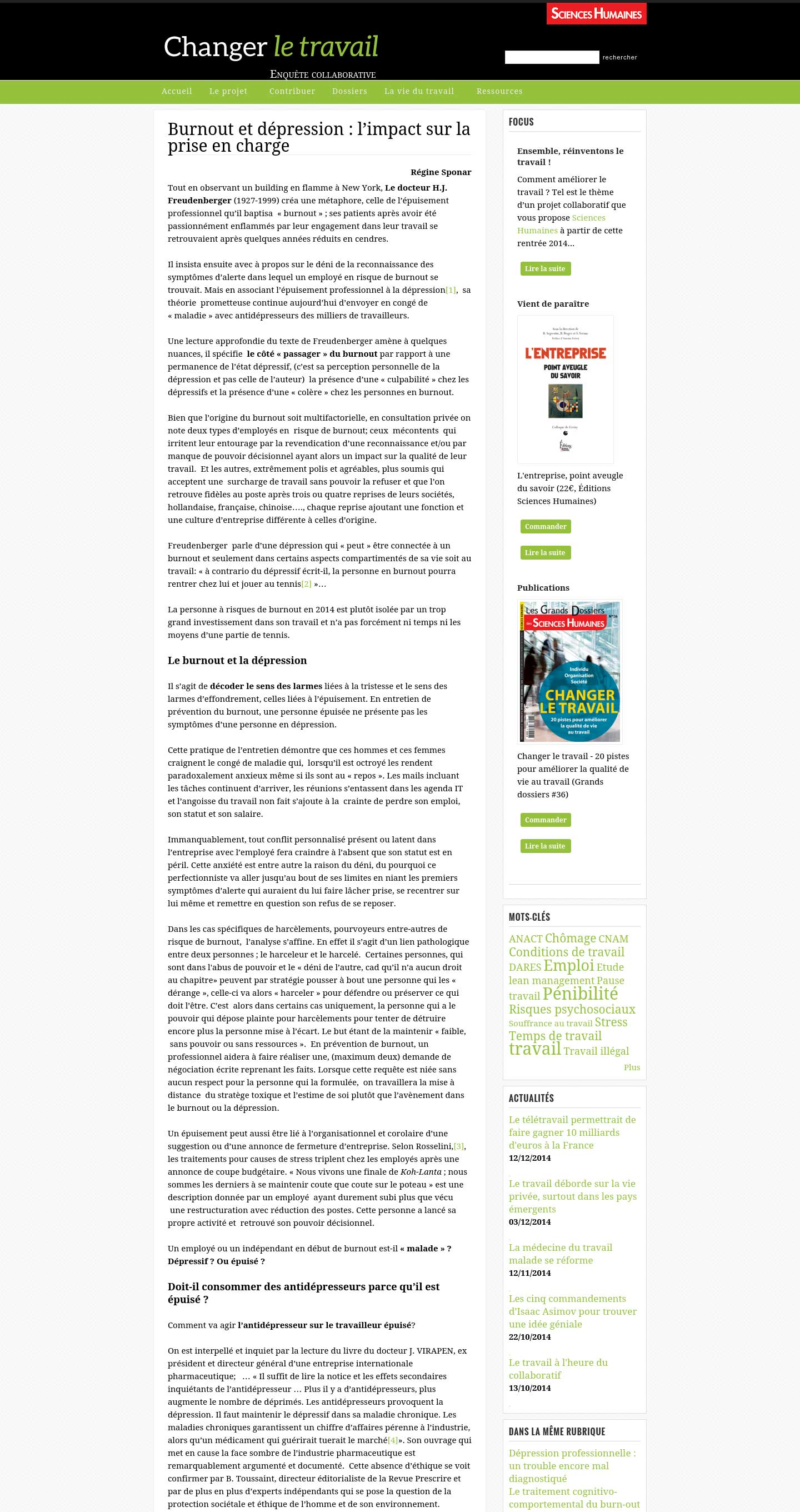 Sciences Humaines 1