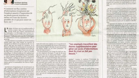 Van hyper-geconnecteerd naar burn-out   – La Libre Belgique