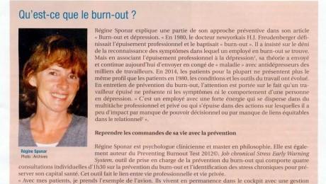 Qu'est-ce que le burnout ? – L'Entreprise et l'Homme