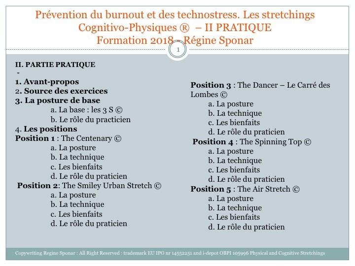 Prévention du burnout et prévention des technostress